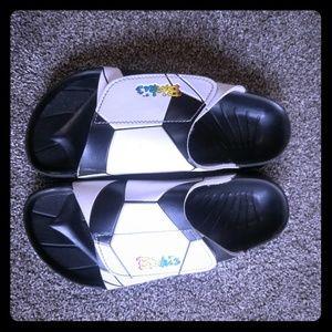 Birkis Samoa Soccer Sandas Womens Size 38